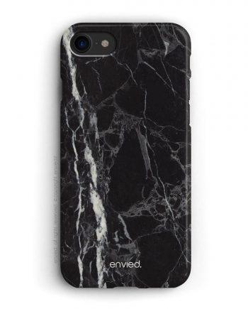 cover per iPhone in marmo nero