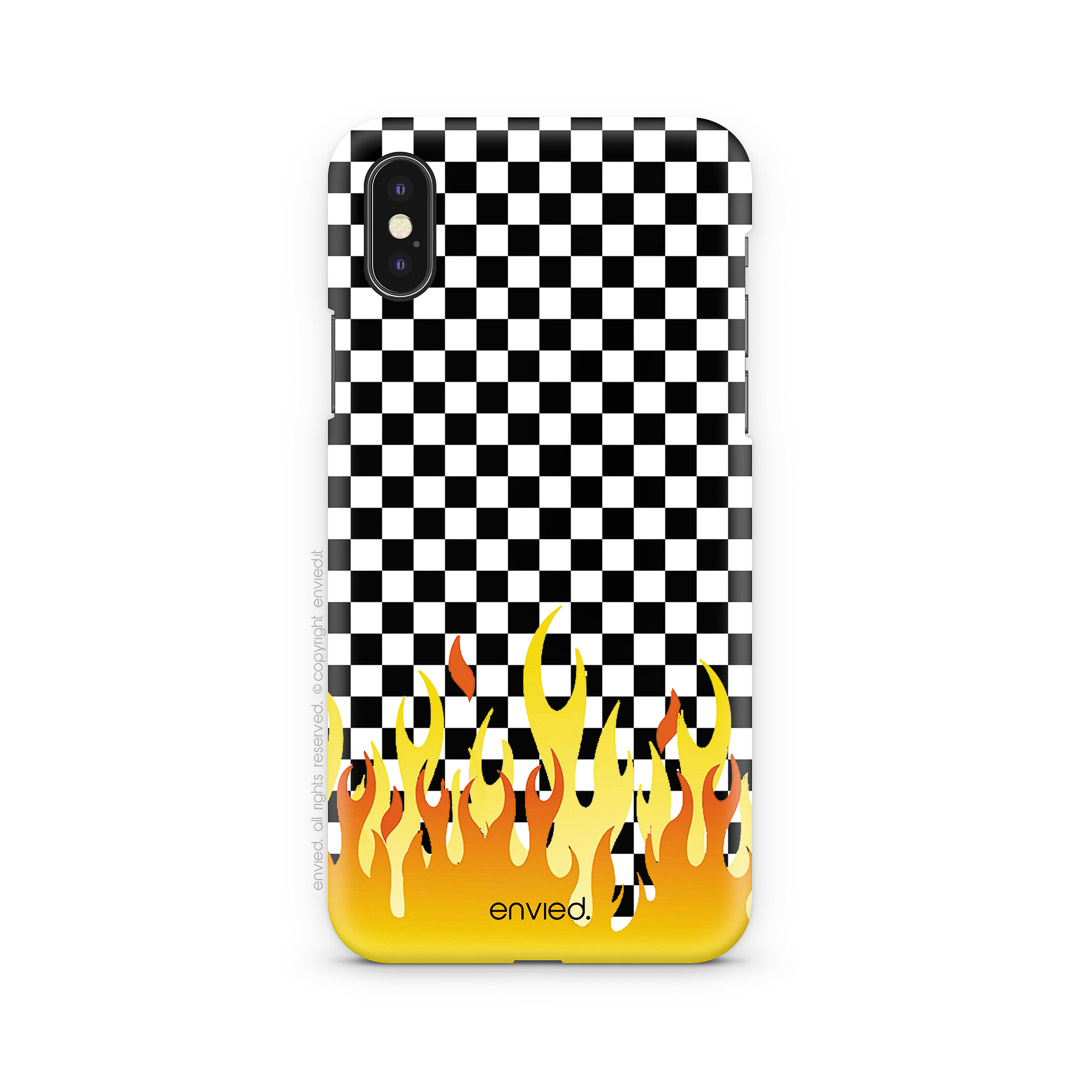 Cover Scacchi Con Fiamme Envied Enviedcases