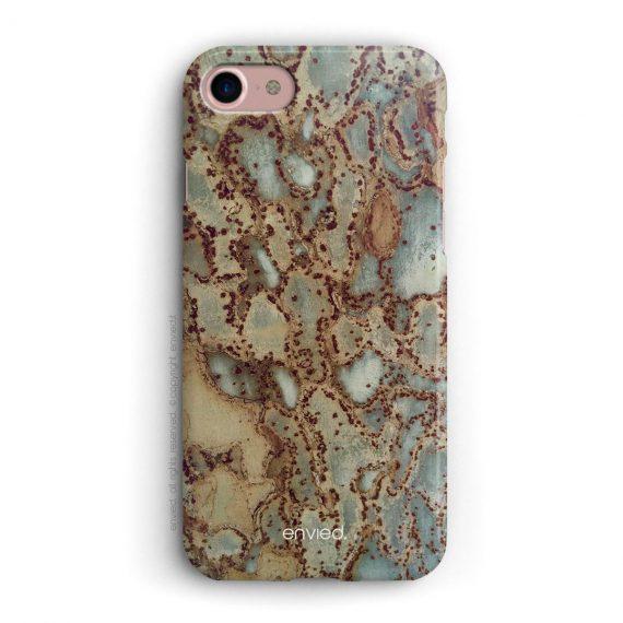 cover per iPhone classica con trama di corteccia