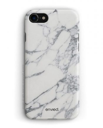 cover per iPhone in marmo bianco